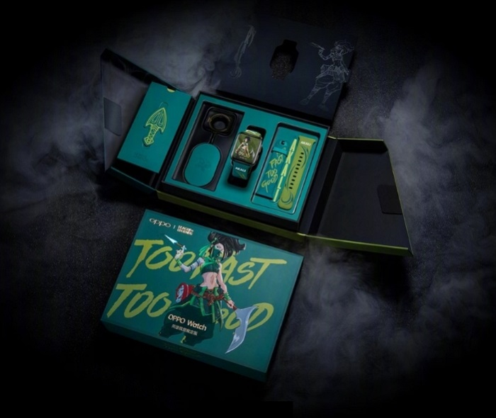 Oppo Watch-League of Legends Akali Edition Box