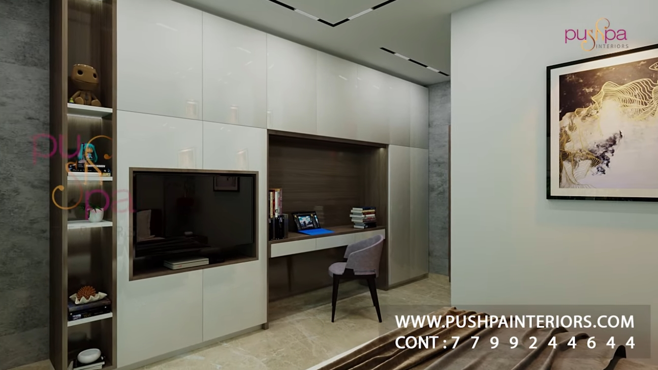 10 Photos vs. 2 BHK Simple Interior Design - Luxury Home & Interior Design Video Tour