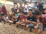 Bupati HBY Panen Jamur di Karsel