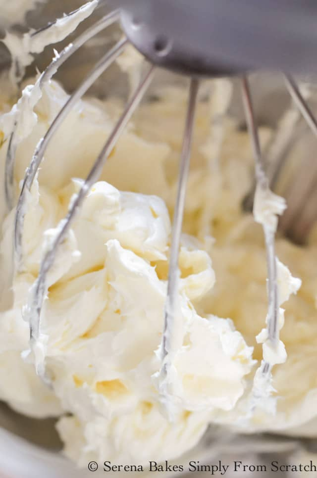 Whipped Cream Cheese for Chocolate Pudding Cheesecake.