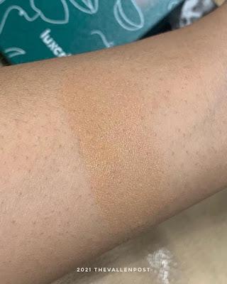 luxcrime 2nd skin luminous cushion swatch