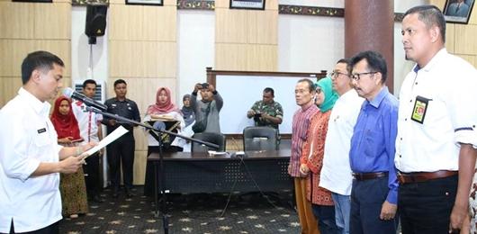Forum Koordinasi DAS Kota Padang 2019 – 2023 Dikukuhkan