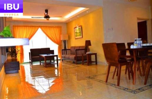 Gold Coast Melaka Resort ruang tamu