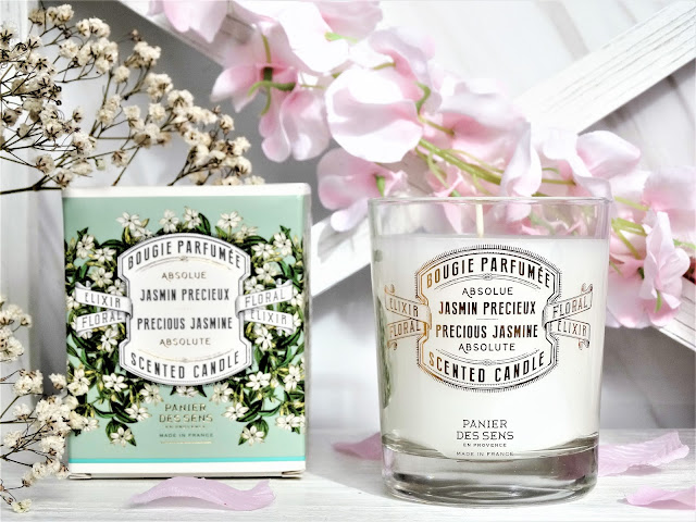 Avis Bougie Parfumée Jasmin Précieux de Panier des Sens