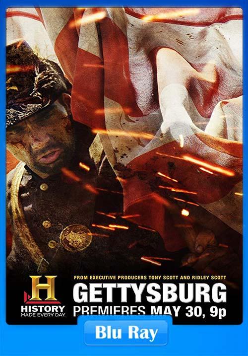 Gettysburg 2011 720p BluRay x264   480p 300MB   100MB HEVC Poster