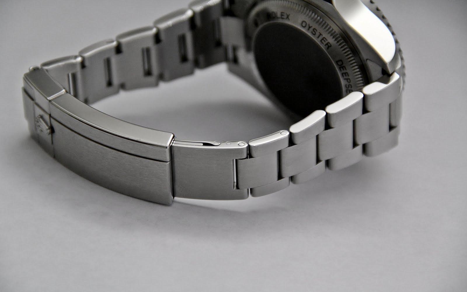 Rolex Deepsea Sea Dweller 116660 Glide Lock Clasp