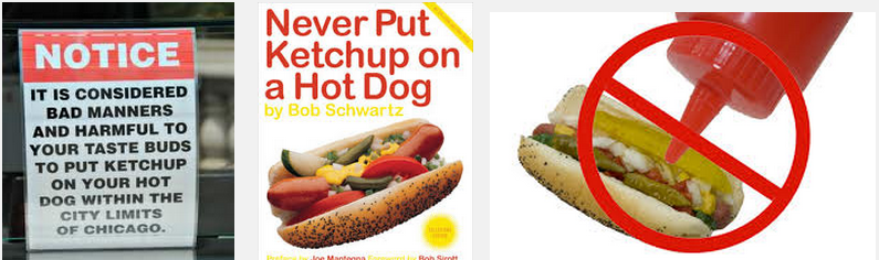 Why No Ketchup On Hot Dogs