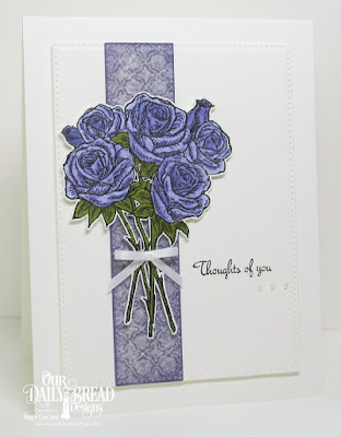 ODBD Rose Bouquet, ODBD Christian Faith Paper Collection, ODBD Custom Pierced Rectangles Dies