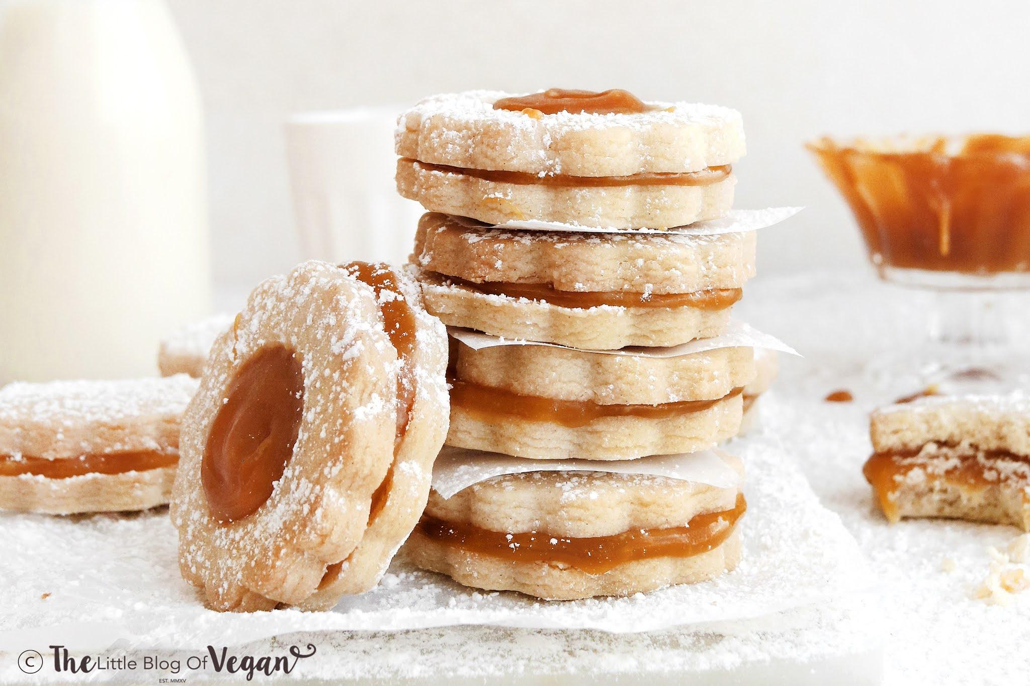 Caramel Shortbread Biscuits