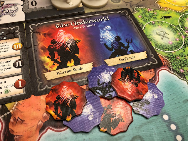 Heroes of Land, Air & Sea Gamelyn Games Order and Chaos Expansion Undead Underworld; Photo by Benjamin Kocher 2020