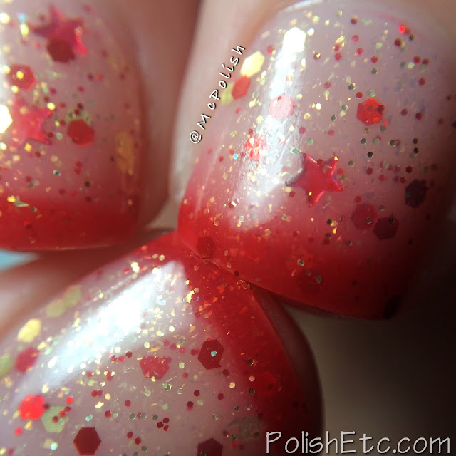 Lavish Polish - Christmas Collection 2015 - McPolish - Santa's Sleigh