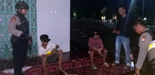 Aduh… Kawasan Masjid Agung Bulukumba Jadi Tempat Pesta Ngelem