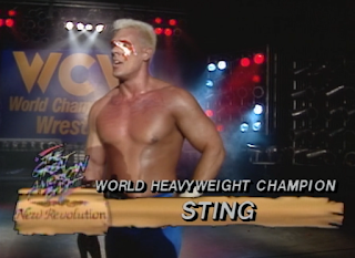 WCW Great American Bash 1990 - Sting beat Ric Flair for the world heavyweight championship