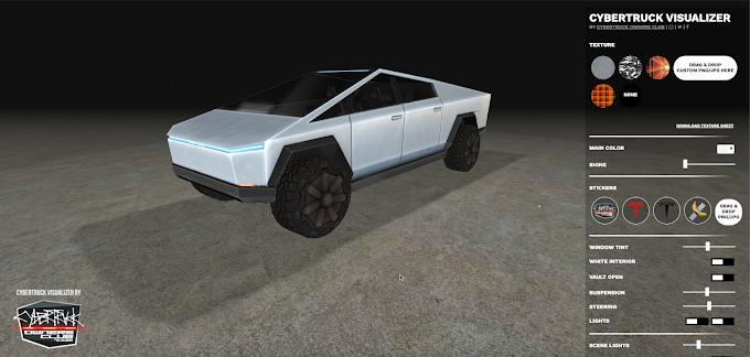 Crea tu propio Tesla CyberTruck con este simulador gratuito