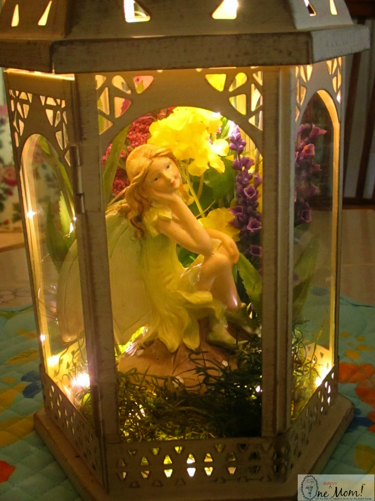 One Savvy Mom   NYC Area Mom Blog DIY Fairy Lantern Lamp Tutorial