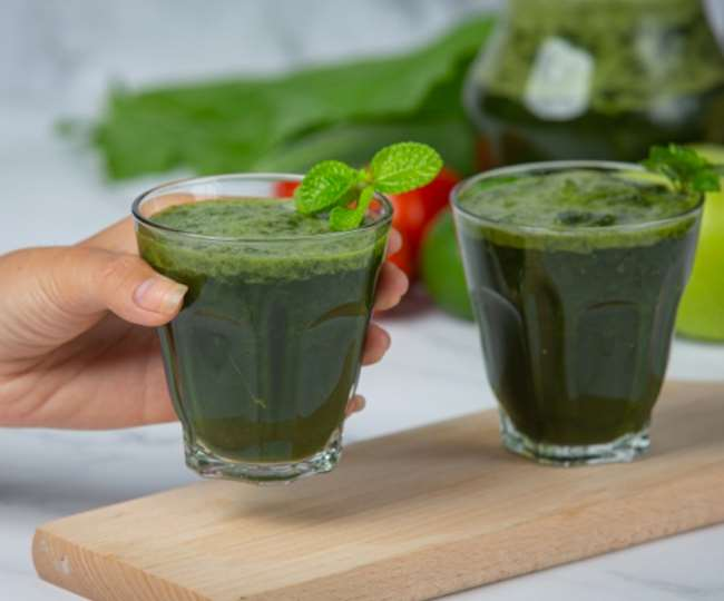 """""""Cucumber Mint Smoothie"""" is enough to stay energetic throughout the day, know Cucumber Mint Smoothie recipe"""