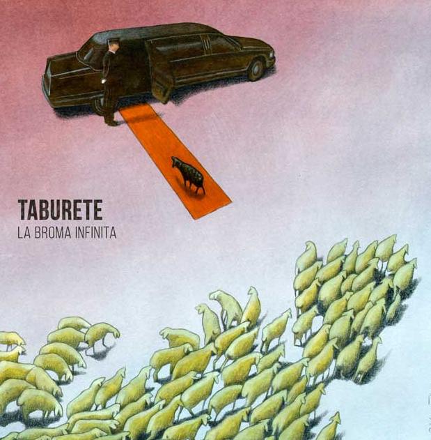"""Taburete presenta su nuevo y cuarto álbum de estudio, """"La Broma Infinita"""""""