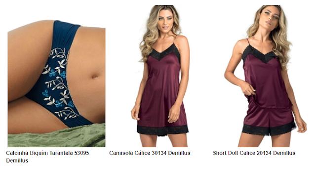 lingerie, demillus lingerie, demillus, le lingerie, moda intima