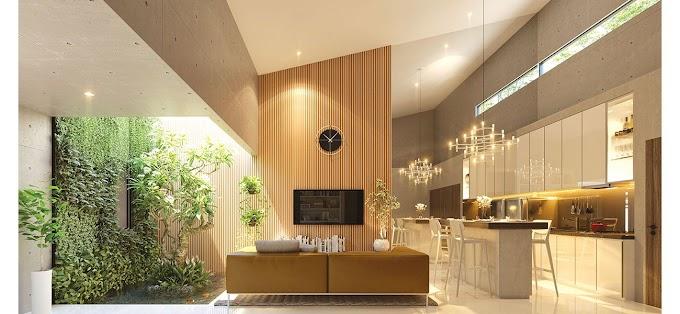 Tips Membangun Area Terbuka Dalam Rumah