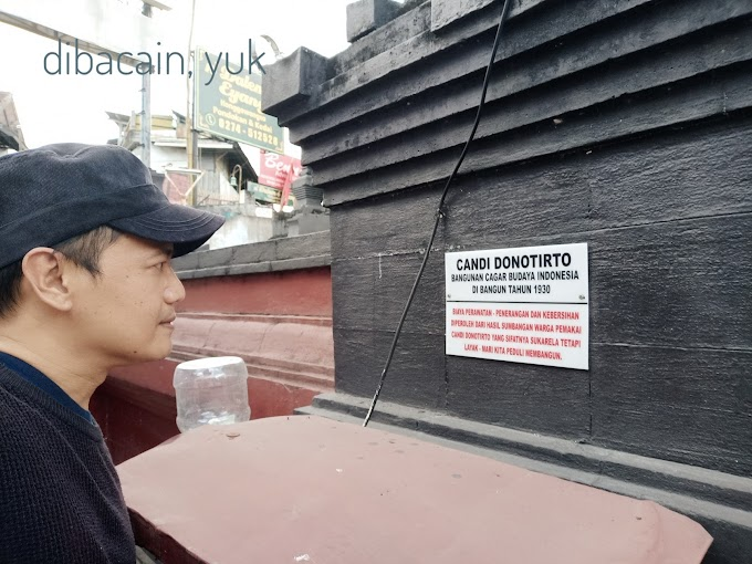 Candi Donotirto - Pemandian Pancuran Kali Winongo