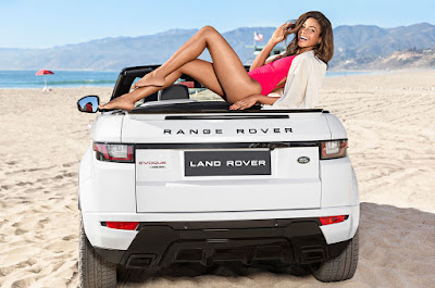 Range Rover Evoque with Hot girl image Hd