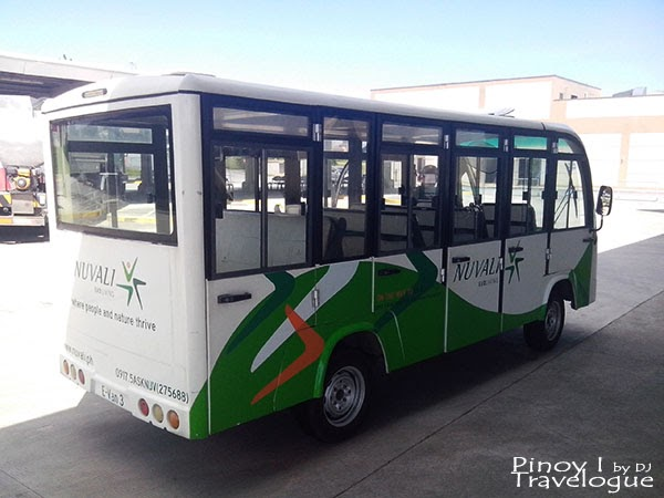 Nuvali's electric-powered bus
