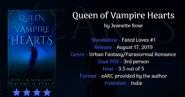 QUEEN OF VAMPIRE HEARTS by Jeanette Rose