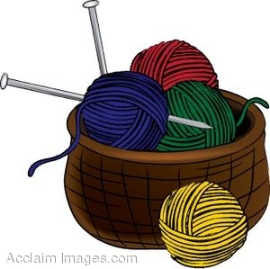 Hold a thought, pen it down: Knitting? Who me? Couldn't be...