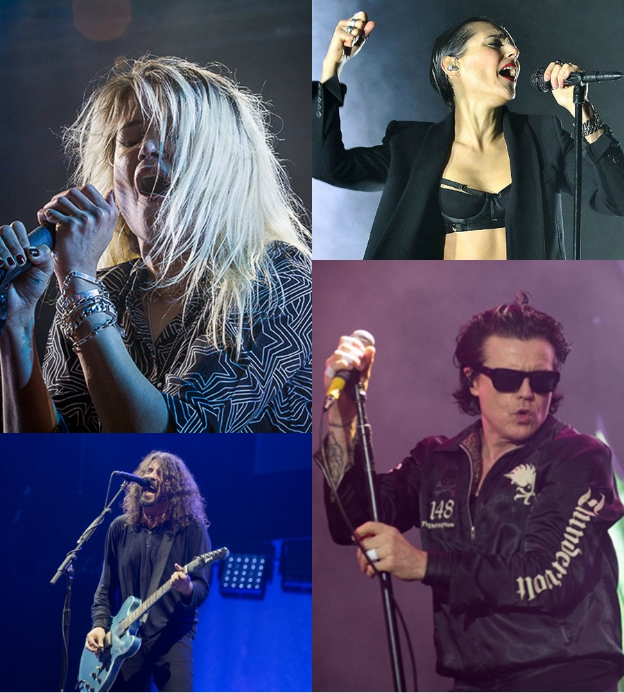 NOS ALIVE 2017 THE KILLS THE CULT SAVAGES FOO FIGHTERS