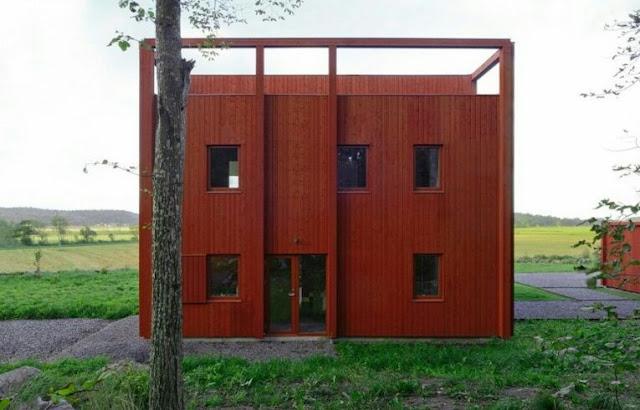 Unique 2-Story House Design