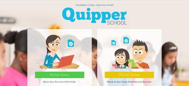 pembelajaran online di quipper
