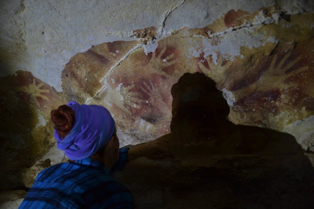 Climate change could erase ancient Indonesian cave art