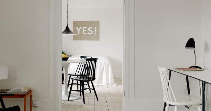 My Scandinavian Home: Monochrome-ish Malmö Apartment