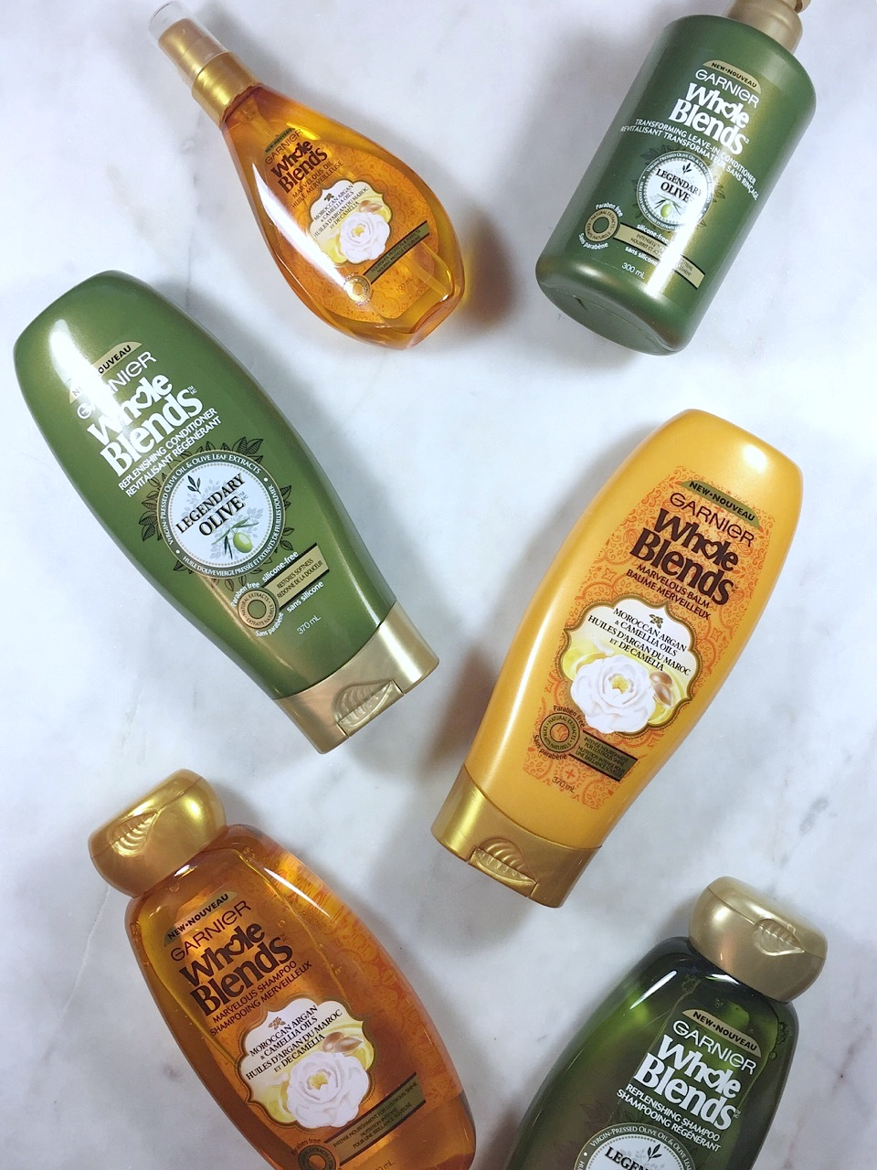 Garnier Whole Blends Moroccan Argan and Camellia Oil: A quick review
