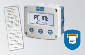 F119 Flow rate Indicator with receipt printer driver
