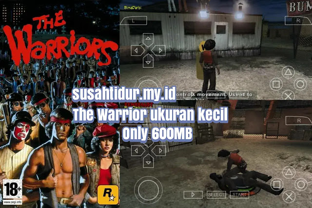 The Warriors PPSSPP UKURAN kecil dan Cheat