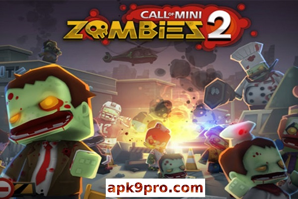 Call of Mini: Zombies 2 v2.2.0 Apk + Mod + Data (File size 126 MB) for Android