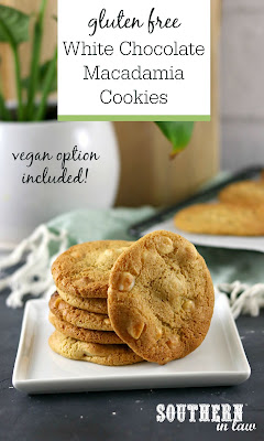 Soft and Chewy White Chocolate Macadamia Cookies Recipe Gluten Free