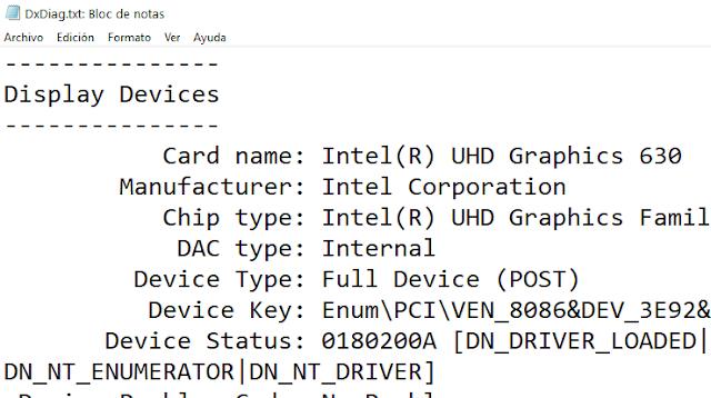 Windows: Cómo saber que tarjeta gráfica tengo
