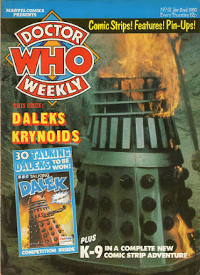 Doctor Who Weekly #12, Daleks