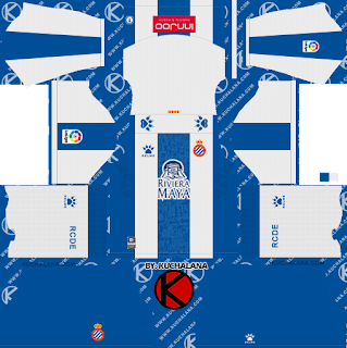 Espanyol 2019/2020 Kit - Dream League Soccer Kits