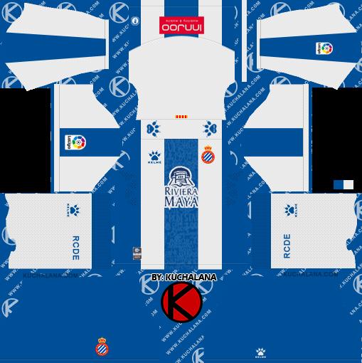 Espanyol 2019/2020 Kit - Dream League Soccer Kits