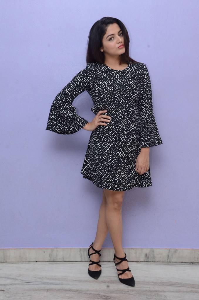 Wamiqa Gabbi Latest Photos In Black Dress