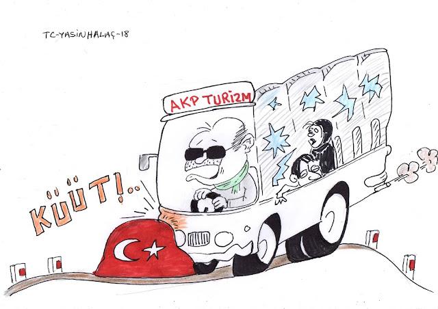 akp turizm karikatür