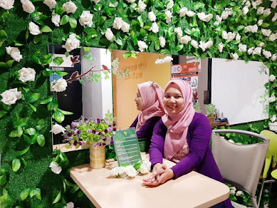 tips cara cantik dan segar di de green salon and spa khusus wanita facial body treatment creambath nurul sufitri travel blogger lifestyle review health