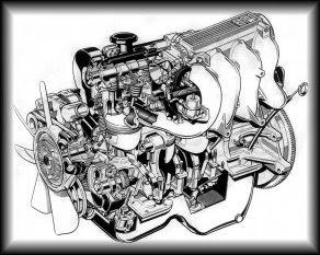 Ввиды двигателей на Ford Sierra