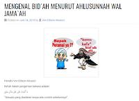 Mengenal Bid'ah Menurut Ahlusunnah Wal Jama'ah - Artikel Kajian Islam Tarakan