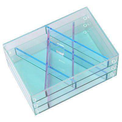 Shop Nile Corp Wholesale Acrylic Glass Like Jewelry and Makeup Storage Box