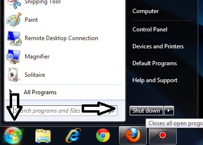 mematikan komputer laptop yang benar