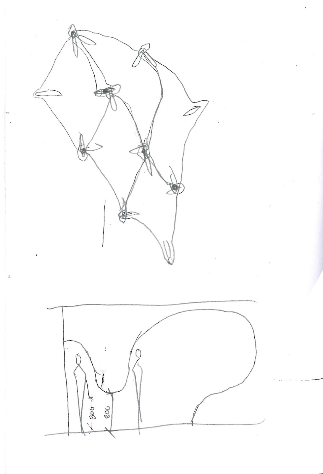 Additional initial sketches of flux